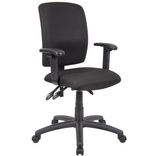 Multi function task chair w arms for Function chairs